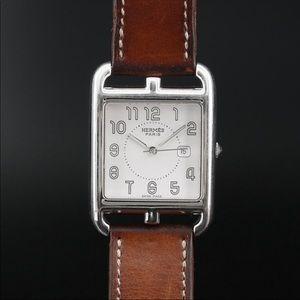 Hermès Cape Cod Double Tour Strap Wristwatch